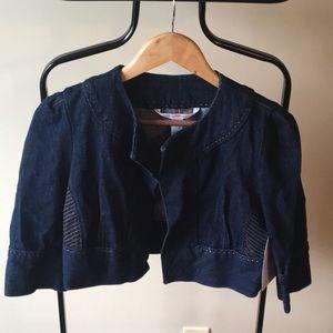 Diane von Furstenberg denim jacket